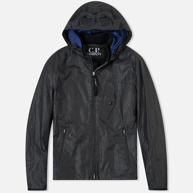 Мужская демисезонная куртка C.P. Company Giacca Sfoderata Lino Black