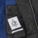 C.P. Company Giacca Sfoderata Lino Men's Jacket Black photo- 4