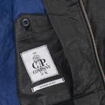 Мужская демисезонная куртка C.P. Company Giacca Sfoderata Lino Black фото- 4