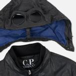 Мужская демисезонная куртка C.P. Company Giacca Sfoderata Lino Black фото- 2