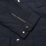 Мужская демисезонная куртка Hackett Velospeed Navy фото- 7