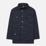 Мужская демисезонная куртка Hackett Velospeed Navy фото- 1