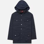 Мужская демисезонная куртка Hackett Velospeed Navy фото- 0
