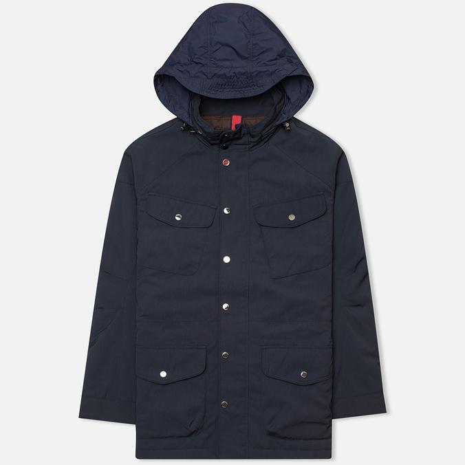 Мужская демисезонная куртка Hackett Velospeed Navy