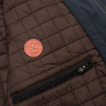 Мужская демисезонная куртка Hackett Velospeed Navy фото- 12
