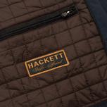 Мужская демисезонная куртка Hackett Velospeed Navy фото- 11