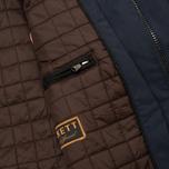 Мужская демисезонная куртка Hackett Velospeed Navy фото- 10