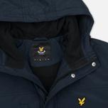 Мужская демисезонная куртка Lyle & Scott Micro Fleece Navy фото- 2
