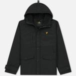Мужская демисезонная куртка Lyle & Scott Micro Fleece True Black фото- 0