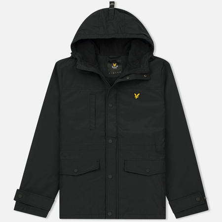 Мужская демисезонная куртка Lyle & Scott Micro Fleece True Black