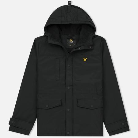 Мужская демисезонная куртка Lyle & Scott Micro Fleece True Black