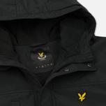 Мужская демисезонная куртка Lyle & Scott Micro Fleece True Black фото- 2