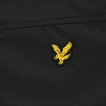 Мужская демисезонная куртка Lyle & Scott Micro Fleece True Black фото- 3