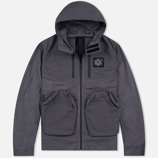 Мужская демисезонная куртка Plurimus Vector Grey