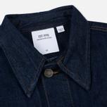 Мужская джинсовая куртка Calvin Klein Jeans Est. 1978 Denim Trucker Panel Rinse Indigo фото- 2
