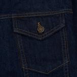 Мужская джинсовая куртка Calvin Klein Jeans Est. 1978 Denim Trucker Panel Rinse Indigo фото- 3