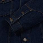 Мужская джинсовая куртка Calvin Klein Jeans Est. 1978 Denim Trucker Panel Rinse Indigo фото- 4