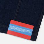 Мужская джинсовая куртка Calvin Klein Jeans Est. 1978 Denim Trucker Panel Rinse Indigo фото- 5