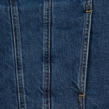 Мужская джинсовая куртка Calvin Klein Jeans Sherpa Regular Fit Mid Blue фото- 5
