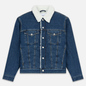 Мужская джинсовая куртка Calvin Klein Jeans Sherpa Regular Fit Mid Blue фото - 0