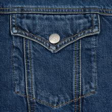 Мужская джинсовая куртка Calvin Klein Jeans Sherpa Regular Fit Mid Blue фото- 3
