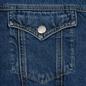 Мужская джинсовая куртка Calvin Klein Jeans Sherpa Regular Fit Mid Blue фото - 3