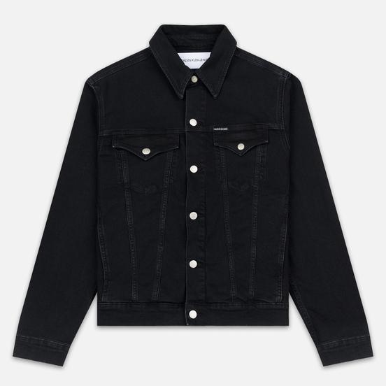 Мужская джинсовая куртка Calvin Klein Jeans Slim Fit Black
