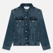 Мужская джинсовая куртка Calvin Klein Jeans Slim Fit Mid Blue фото- 0