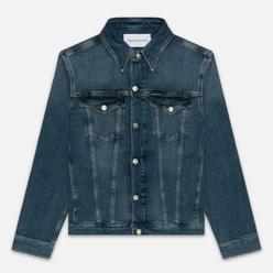 Мужская джинсовая куртка Calvin Klein Jeans Slim Fit Mid Blue