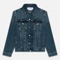 Мужская джинсовая куртка Calvin Klein Jeans Slim Fit Mid Blue фото - 0