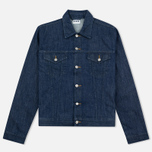 Мужская джинсовая куртка Edwin Buddy Organic 11 Oz Blue Rinsed фото- 0
