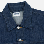 Мужская джинсовая куртка Edwin Buddy Organic 11 Oz Blue Rinsed фото- 2