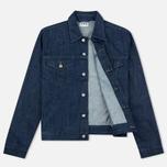Мужская джинсовая куртка Edwin Buddy Organic 11 Oz Blue Rinsed фото- 1