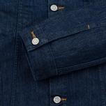 Мужская джинсовая куртка Edwin Buddy Organic 11 Oz Blue Rinsed фото- 4