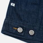 Мужская джинсовая куртка Edwin Buddy Organic 11 Oz Blue Rinsed фото- 5