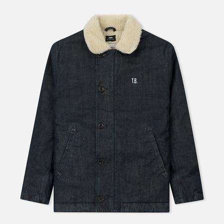 Мужская джинсовая куртка Edwin Deck Granite Denim 13.5 Oz Blue Rinsed