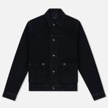 Мужская джинсовая куртка Edwin Rider Black фото- 0