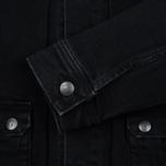 Мужская джинсовая куртка Edwin Rider Black фото- 3