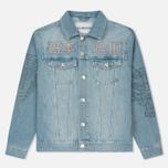 Мужская джинсовая куртка Han Kjobenhavn Base Heavy Stone/Print фото- 0