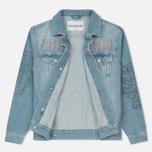 Мужская джинсовая куртка Han Kjobenhavn Base Heavy Stone/Print фото- 3