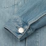 Мужская джинсовая куртка Han Kjobenhavn Base Heavy Stone/Print фото- 5
