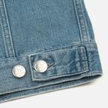 Мужская джинсовая куртка Han Kjobenhavn Base Heavy Stone/Print фото- 6