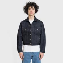 Мужская джинсовая куртка Helmut Lang Masc Trucker Raw Denim Indigo фото- 2