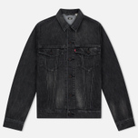 Мужская джинсовая куртка Levi's Skateboarding Skate Trucker Black Battery фото- 0