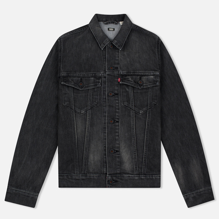 Мужская джинсовая куртка Levi's Skateboarding Skate Trucker Black Battery