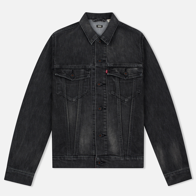 Мужская джинсовая куртка Levi's Skateboarding Skate Trucker Black Battery