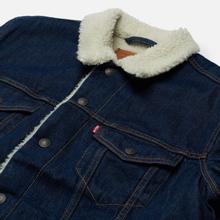 Мужская джинсовая куртка Levi's The Sherpa Trucker Rockridge фото- 1