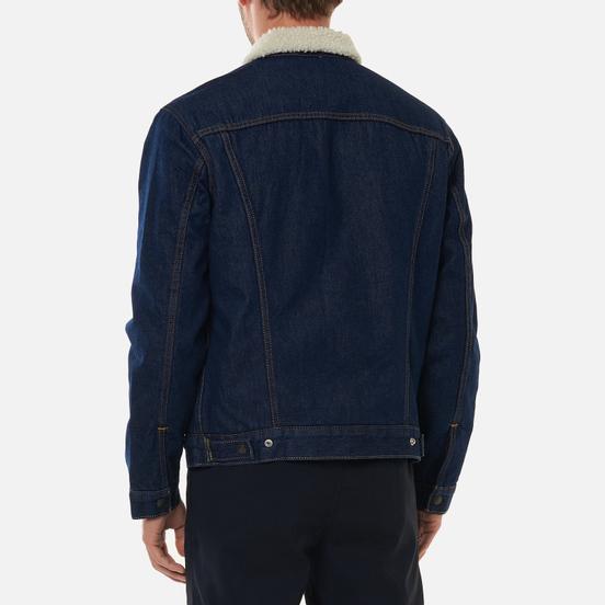 Мужская джинсовая куртка Levi's The Sherpa Trucker Rockridge