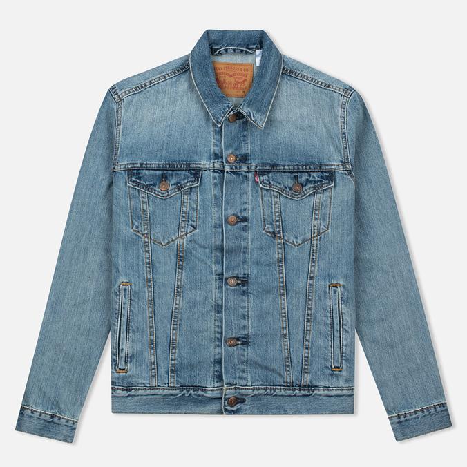 Мужская джинсовая куртка Levi's Trucker Icy