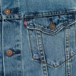 Мужская джинсовая куртка Levi's Trucker Icy фото- 4